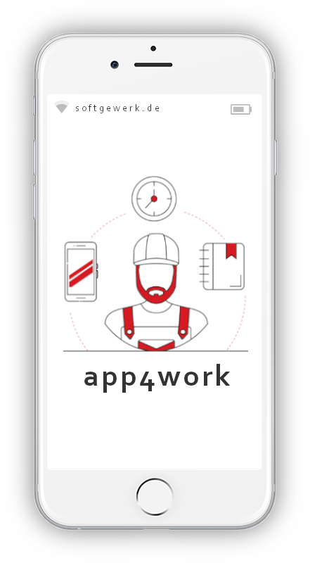 app4work | bauzeit, material, MDE Scanner | softgewerk